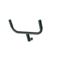 Euromet 01929 | BS2 Adapter for two loudspeakers, steel, distance 420 mm, Black