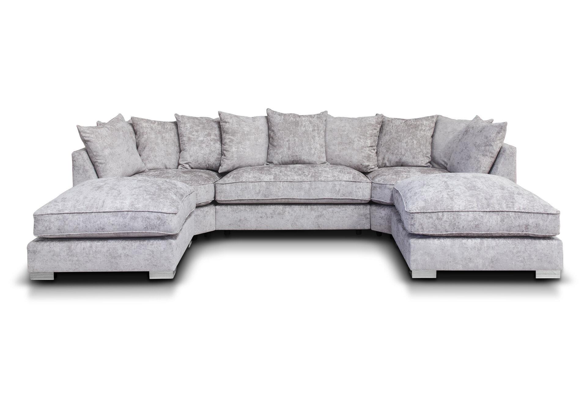 Harriet Fabric Sofa - Truffle 1