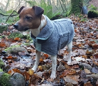 Henry Wag Drying Coat XS 35cm Grey x 1