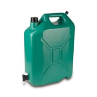 LORDOS WATER CONTAINER 20LTR (JERRY CAN SHAPE WITH TAP)