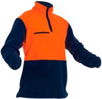 Hi Vis Day Only 1/2 Zip Fleece Jumper 380g NZFOA
