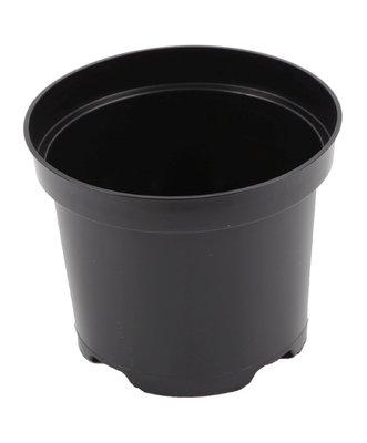 Aeroplas Container Round 10lt - Black [Bulk]