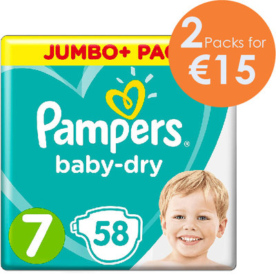 Pampers Baby-Dry Size 7