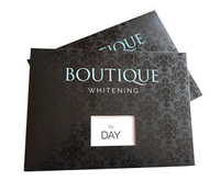 BOUTIQUE WHITENING BY DAY KIT - HYDROGEN PEROXIDE 6%