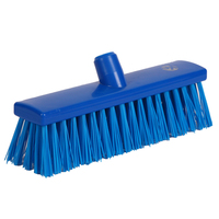 Soft Bristle Broom 300 mm, Blue