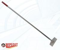 FLOOR SCRAPER H/D RED 130cm