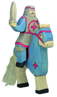 Holztiger Blue Knight Riding without horse