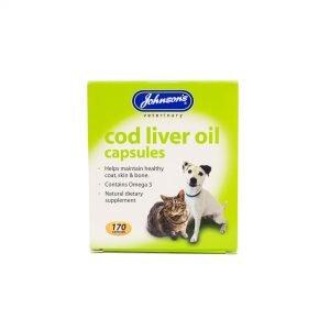 JVP Cod Liver Oil Capsules 3 x 170
