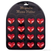 Magnetic Hearts  16 pieces per display. Min order 1 display.