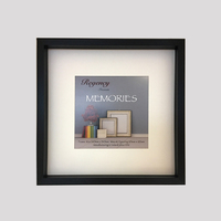 Memories Box Frame Black 34.5 x 34.5cm