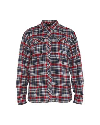 Blaklader 3299-1137 Shirt Navy/Red