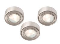 COMMAND 60W three cabinet light kit , IP20, 55mm, White