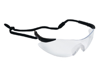 Atlas Anti-Mist Safety Glasses Clear C/W Flexicord