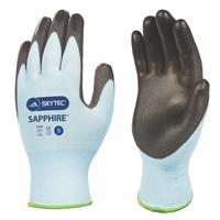 Skytec Sapphire Cut 3 PU Palm Coated Glove, Pair
