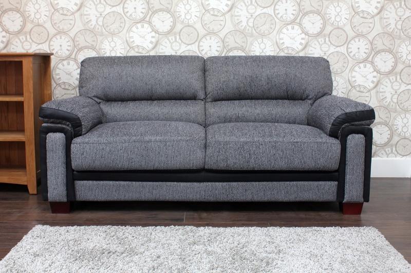 Memphis Fabric Sofa 1 .