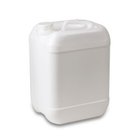 WATER CONTAINER 20 LTR WITH LID  WHITE (SQUARE)
