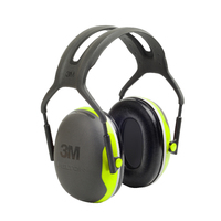 3M PELTOR X4 Ear Defenders - Headband, 33 dB