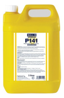 P141 Stopgap Primer For Non Absorbent Surfaces 5ltr