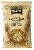 Cashew Large White Pieces (Natco)- 750gr