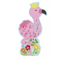 Puzzle Number Flamingo.