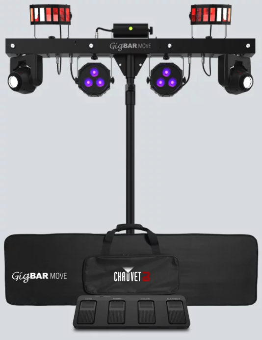 Chauvet DJ Gig Bar Move. 5-in-1 lighting system