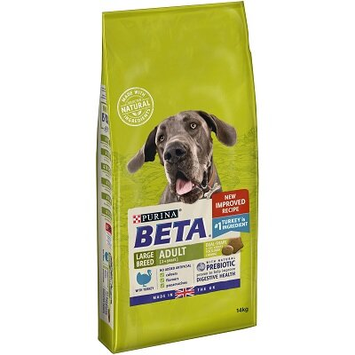 Beta Adult Large Breed with Turkey 14kg