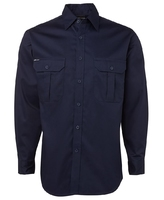 Cotton Long Sleeve Shirt 190gsm