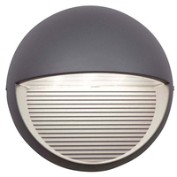 ANSELL Kappa 4100K LED Wall Light Silver Grey