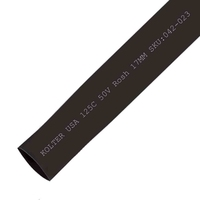 Heat Shrink | Black 17mm Diameter 100M Reel