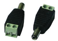 10 x Male DC Plugs