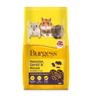 Burgess Hamster, Gerbil & Mouse 750g x 1
