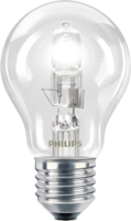 PHILIPS  ECOCLASS30 28W E27 A60 CLEAR(40WGLS)320L