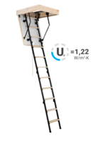 Oman Spacesaver/Mini Attic Loft Ladder 800 X 600