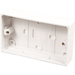 Double Back Box 25mm