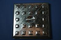 "Manhole Cover & Frame Galvanised 305x305mm 12x12"" 2.5ton"