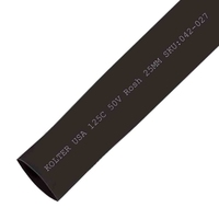 Heat Shrink | Black 25mm Diameter 50M Reel