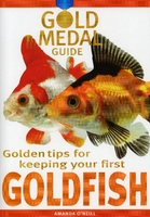 Gold Medal Guide Book: Goldfish x 1 [Zero VAT]