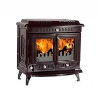 Lilyking 669 18.5KW Boiler Stove (Brown Enamel)