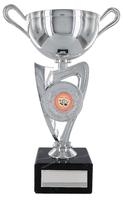 20cm Plastic Silver Cup to suit Centre(V202S)