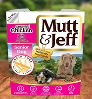 Mutt & Jeff Dog Tray Senior Chicken & Veg 400g x 10