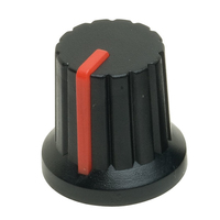 Re'an P570-H-02-S6 15mm Knob with Red Pointer