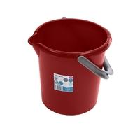 Casa 10L Bucket Chilli Red