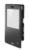 KSIX MFX3474FU28 Folio Case Xperia XA Black