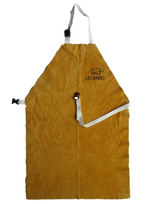 Premium Gold Welders Apron with Buckle & Strap