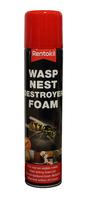 RENTOKIL 300 ML FOAM WASP NEST DESTROYER