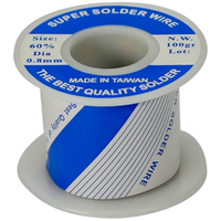 SOLDER WIRE | 60/40 ROSIN CORE 0.8mm - 100GR | 1/4