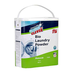 Clean and Clever Laundry Powder Biological Box