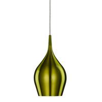 Vibrant Green Bell Pendant Light 12cm