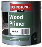 JOHNSTONES WOOD PRIMER WHITE 750 ML