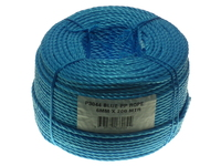 BLUE POLYROPE 6MM X 200MTR